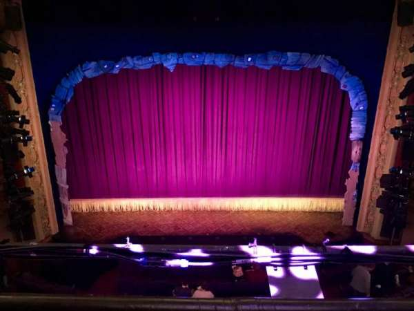 Lyceum Theatre (Broadway), section: Balcony C, row: B, seat: 106