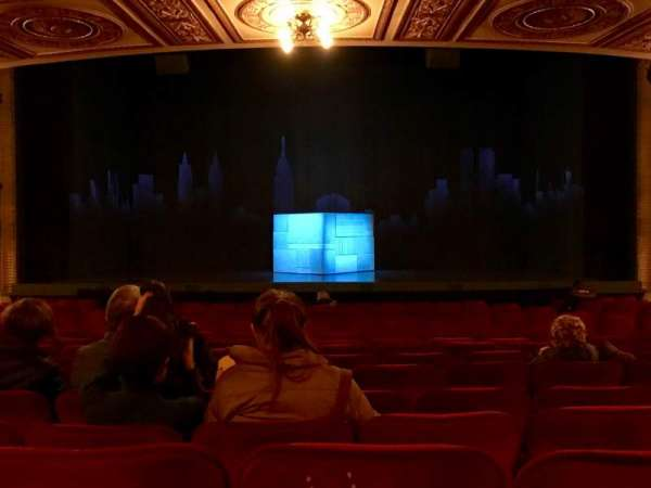 Walter Kerr Theatre, section: Orchestra C, row: S, seat: 106