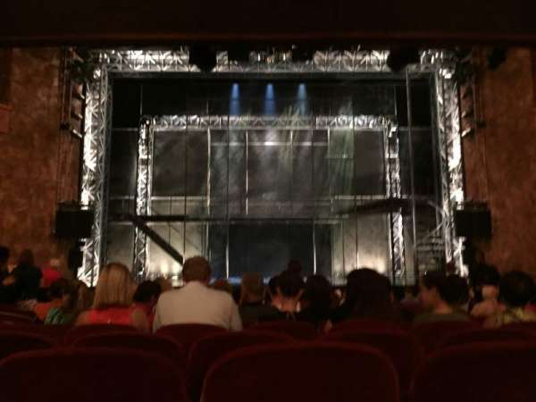 August Wilson Theatre, section: Orchestra Center, row: R, seat: 108