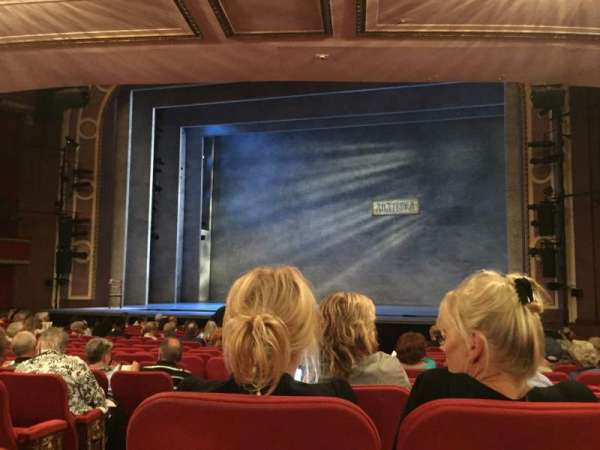 Broadway Theatre - 53rd Street, section: Orchestra R, row: M, seat: 1