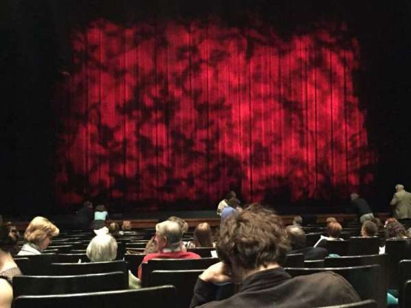 Music Hall At Fair Park, section: Front Orchestra, row: O, seat: 3