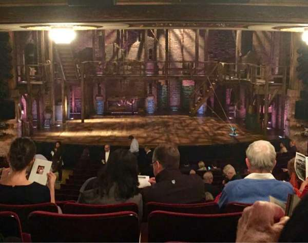 Richard Rodgers Theatre, section: Orchestra Center, row: V, seat: 109