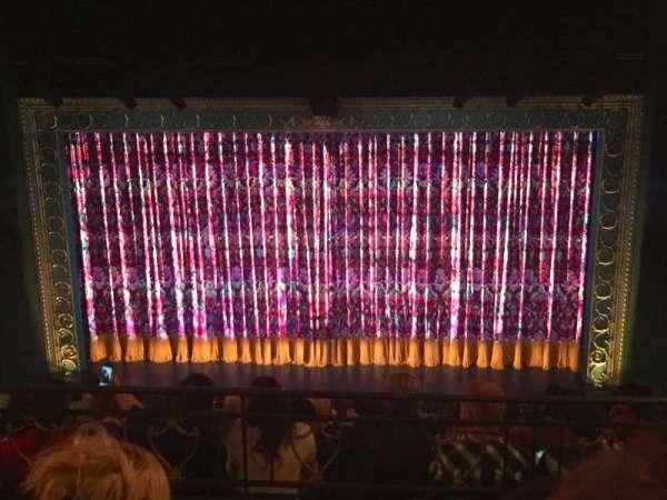 Lunt-Fontanne Theatre, section: Front Mezzanine C, row: C, seat: 106