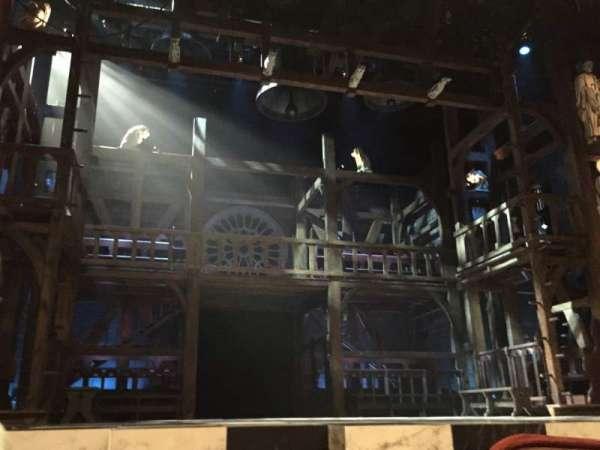 Mandell Weiss Theatre, row: C, seat: 20