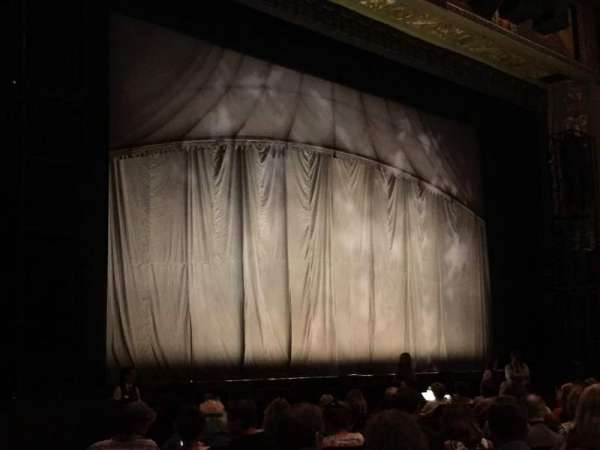 Hollywood Pantages Theatre, section: Orchestra L, row: P, seat: 3A