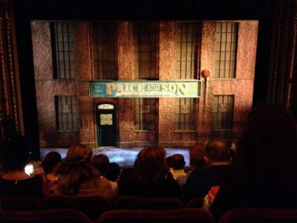 Al Hirschfeld Theatre, section: Orchestra C, row: L, seat: 108