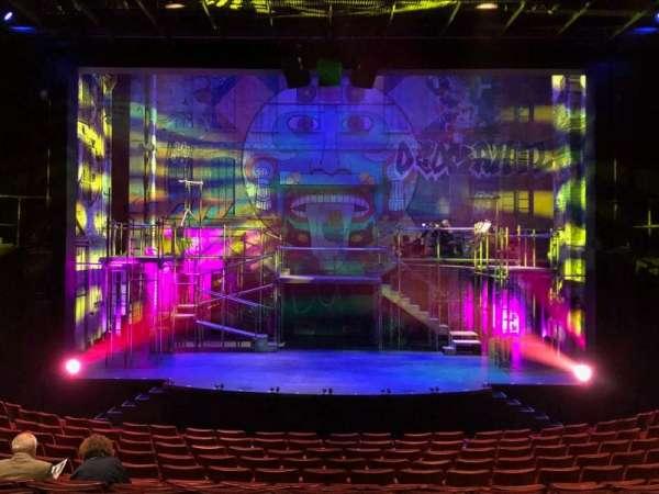 La Jolla Playhouse, section: Main Floor, row: O, seat: 19
