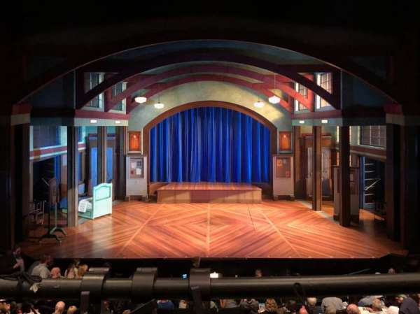 Coca-Cola Stage at Alliance Theatre, section: Center Balcony, row: A, seat: 108