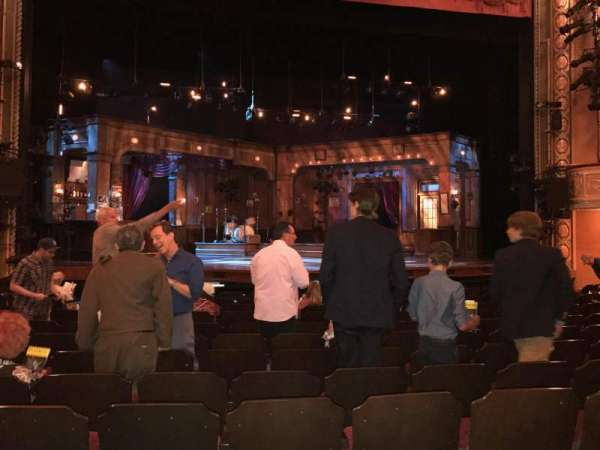 Bernard B. Jacobs Theatre, section: Orchestra C, row: L, seat: 113
