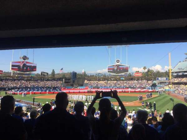Dodger Stadium, section: 5fd, row: W, seat: 6