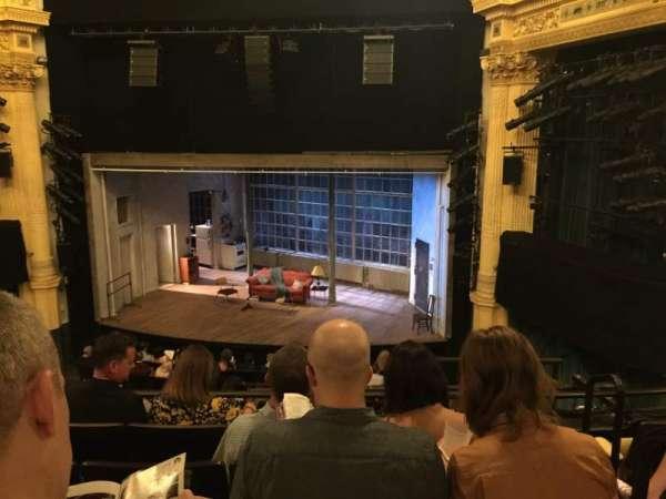 Hudson Theatre, section: Balcony C, row: E, seat: 115