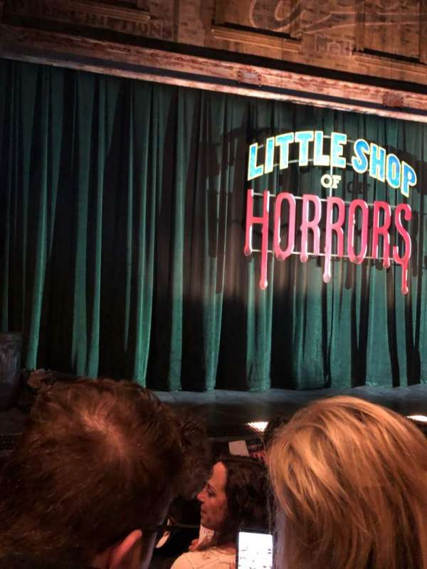 Westside Theatre, section: Orchestra C, row: D, seat: 112