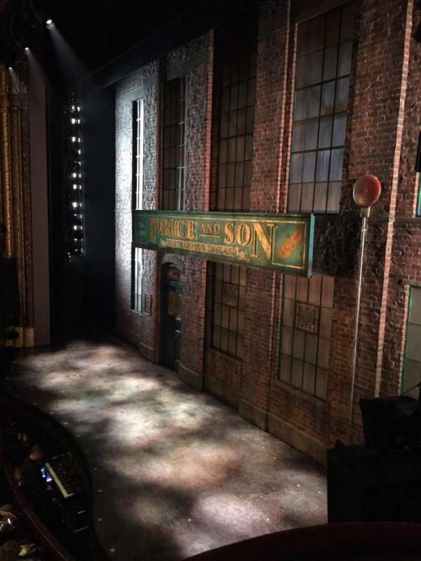 Al Hirschfeld Theatre, section: Right box, row: C, seat: 8