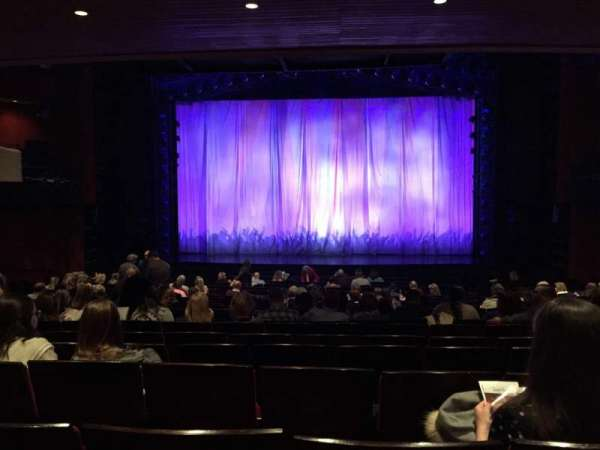 Marquis Theatre, section: Orchestra, row: U, seat: 115
