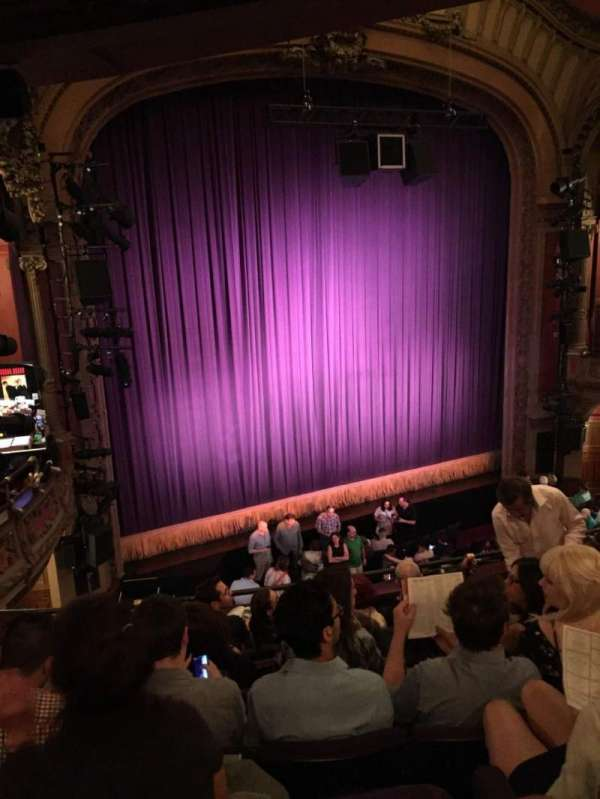 Lyceum Theatre (Broadway), section: Mezz, row: G, seat: 13