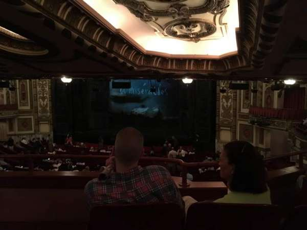 Cadillac Palace Theater, section: Dress Circle R, row: 00, seat: 10