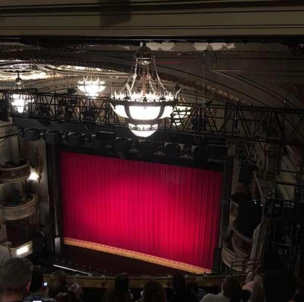 Theatre Royal, section: Balcony, row: K, seat: 3