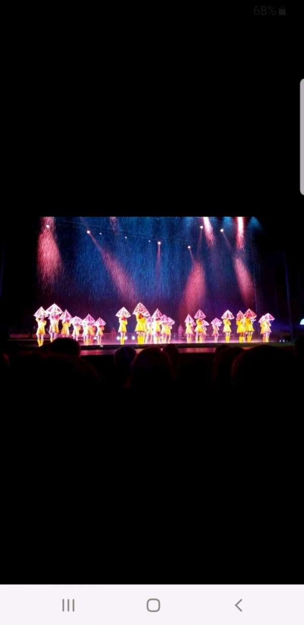 Radio City Music Hall, section: Orchestra 5, row: GG, seat: 505