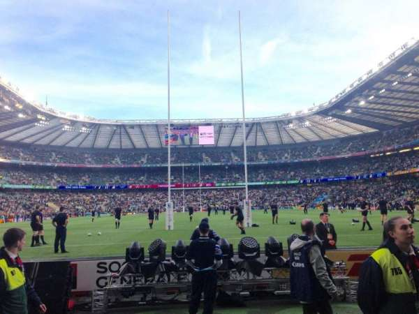 Twickenham Stadium, section: L15, row: 2, seat: 136