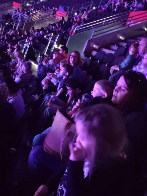 Wells Fargo Arena, section: 209, row: 2, seat: 2