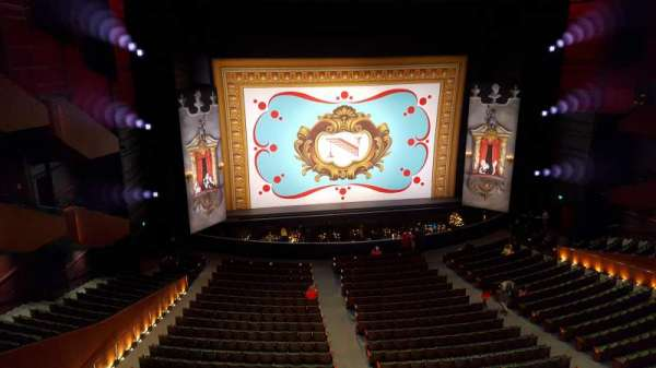 McCaw Hall, section: Second Tier 43, row: A, seat: 8