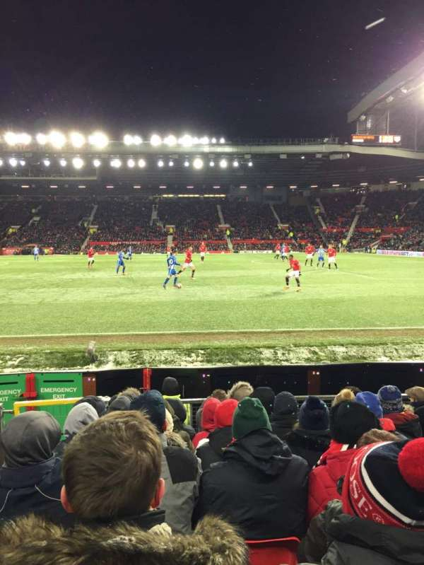Old Trafford, section: N1409, row: JJ, seat: 100