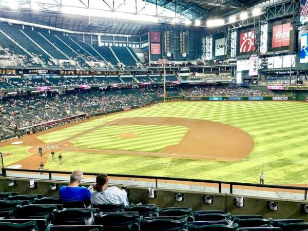Chase Field, section: 207, row: 5, seat: 10