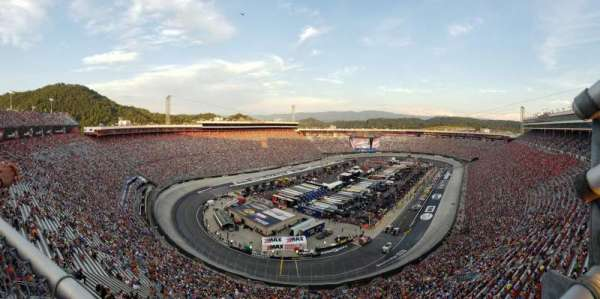 Bristol Motor Speedway, section: Wallace Tower A, row: 1, seat: 1
