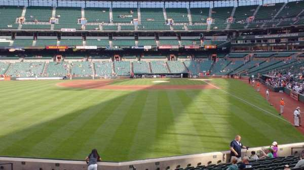 Oriole Park at Camden Yards, section: 78, row: 18, seat: 1