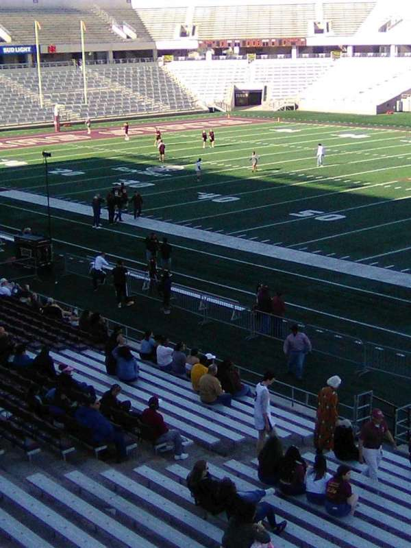 Bobcat Stadium (TSU), section: 201, row: 1, seat: 1