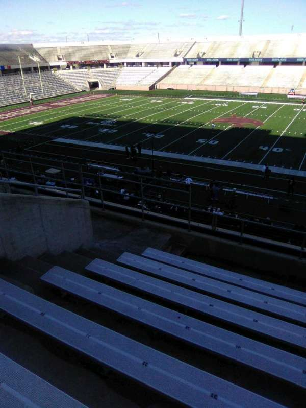 Bobcat Stadium (TSU), section: 202, row: 8, seat: 30