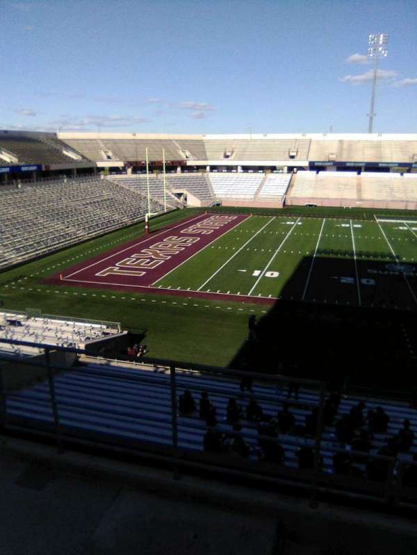Bobcat Stadium (TSU), section: 204, row: 4, seat: 35
