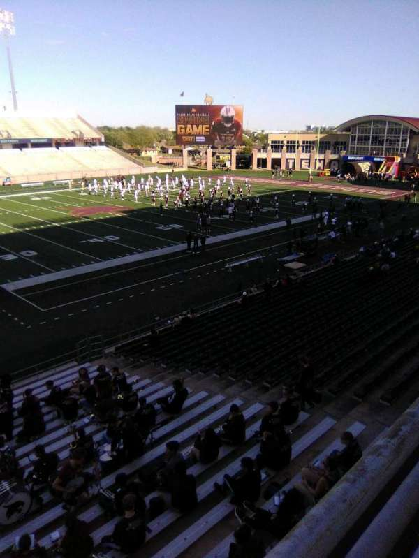 Bobcat Stadium (TSU), section: 205, row: 1, seat: 1