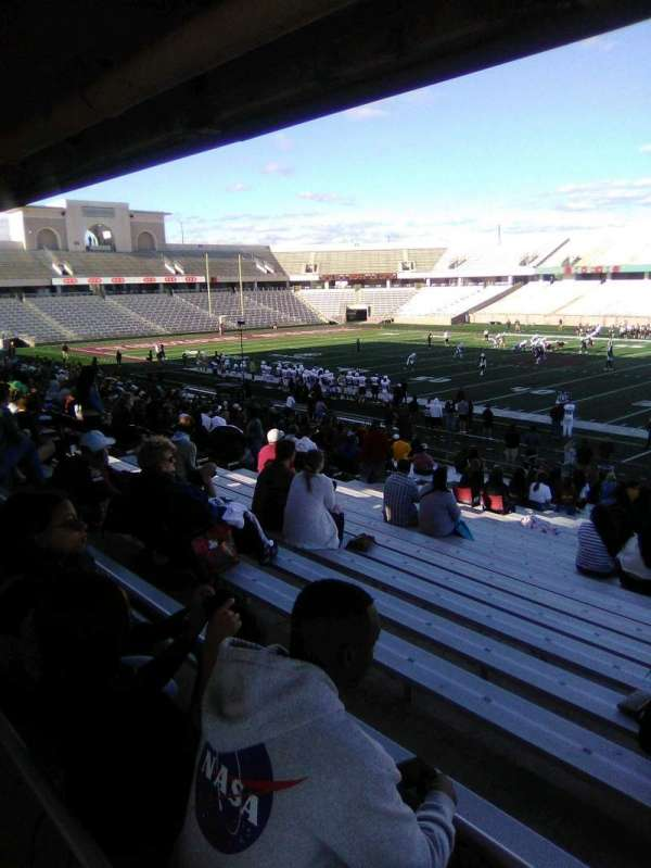 Bobcat Stadium (TSU), section: 101, row: 25, seat: 9