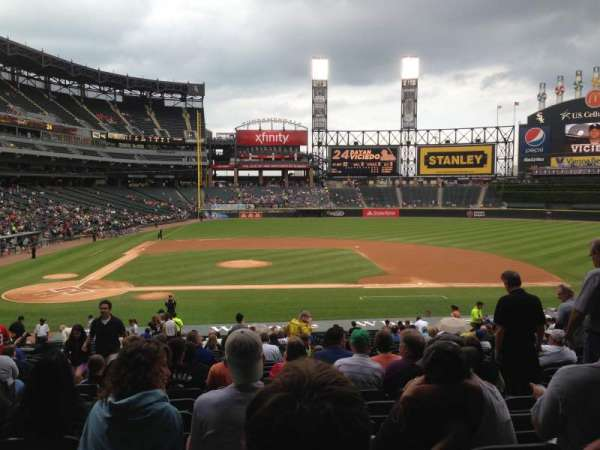 Guaranteed Rate Field, section: 126, row: 33, seat: 7