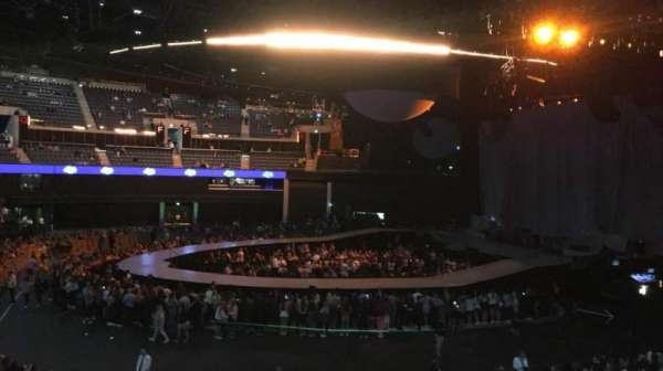 The SSE Hydro, section: 215, row: A, seat: 247