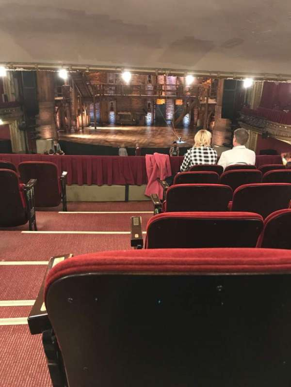 CIBC Theatre, section: Dress Circle RC, row: F, seat: 222