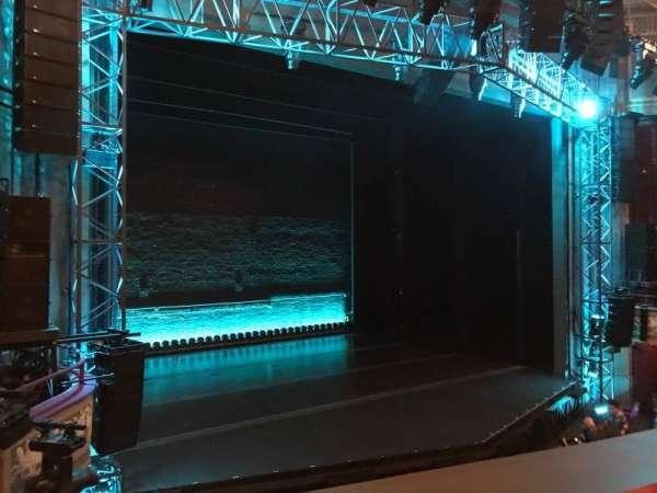 Broadhurst Theatre, section: Mezzanine L, row: A, seat: 15