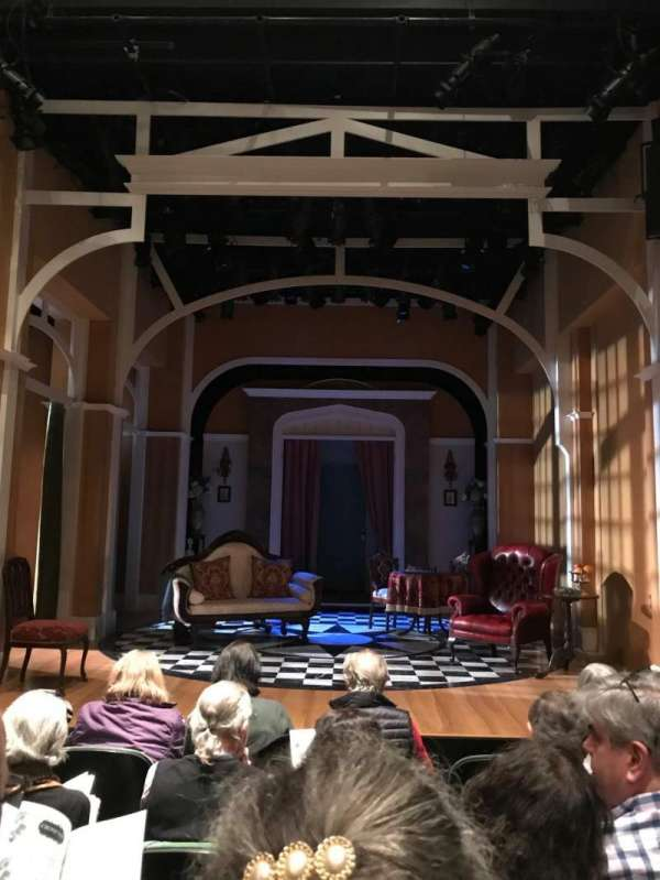 The Irish Repertory Theater, section: Orchestra, row: E, seat: 3