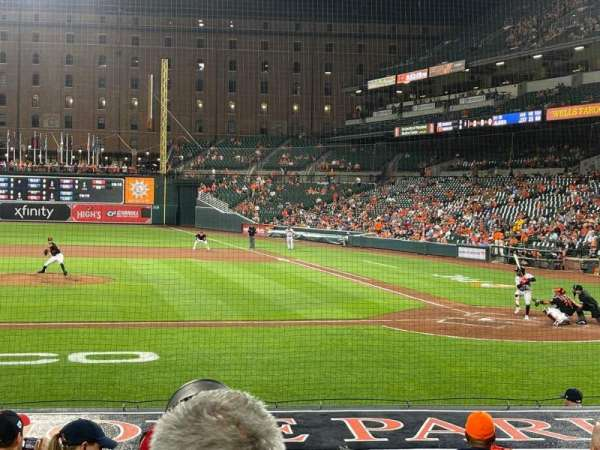 Oriole Park at Camden Yards, section: 50, row: 8, seat: 1