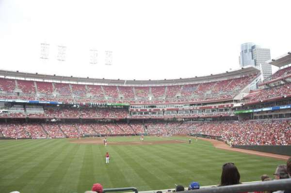 Great American Ball Park, section: 103, row: J, seat: 2