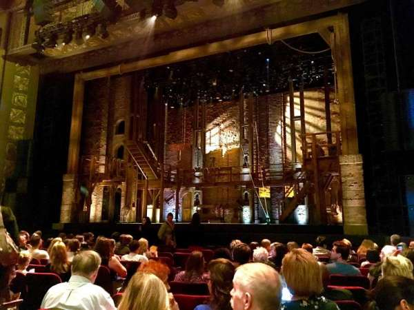 Hollywood Pantages Theatre, section: Right Center, row: L, seat: 205