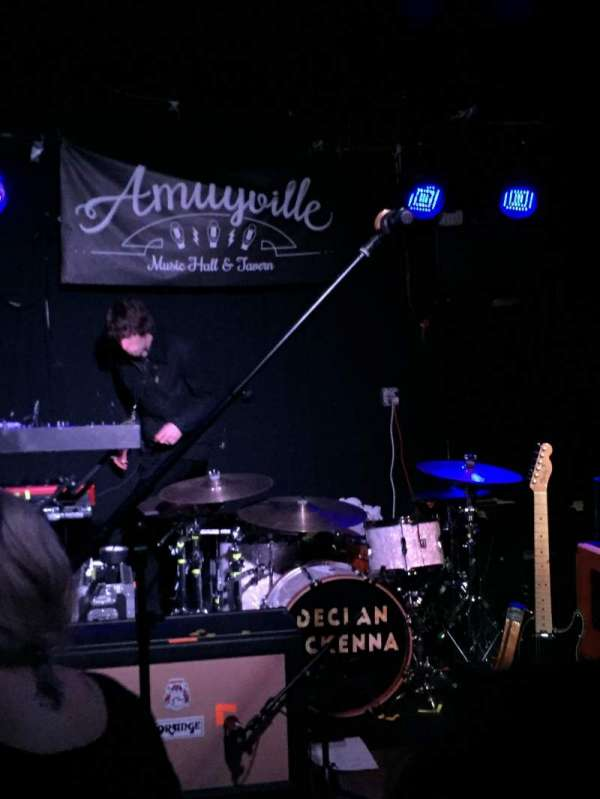 Amityville Music Hall, section: Front row, row: General admission