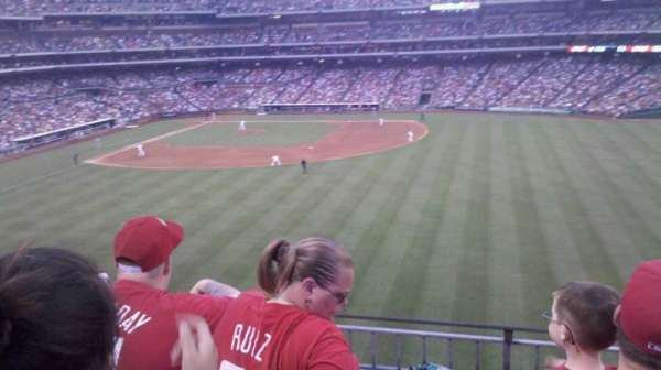 Citizens Bank Park, section: 201, row: 3, seat: 18