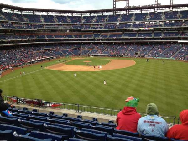 Citizens Bank Park, section: 201, row: 6, seat: 13