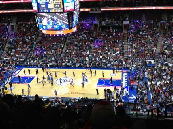 Wells Fargo Center, section: 203, row: 15, seat: 20