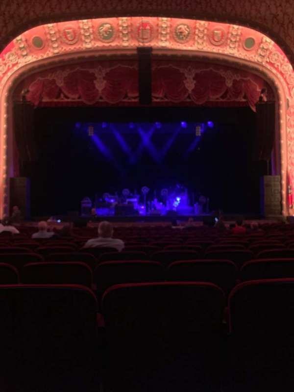Tennessee Theatre, section: Orccen, row: R, seat: 109