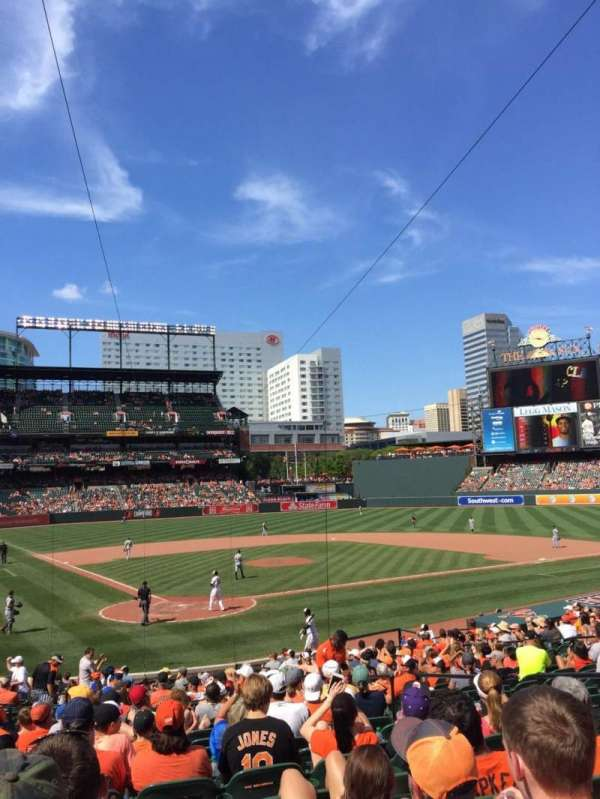 Oriole Park at Camden Yards, section: 32, row: 25, seat: 7