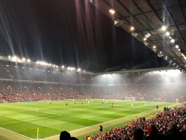Old Trafford, section: W211, row: 7, seat: 33