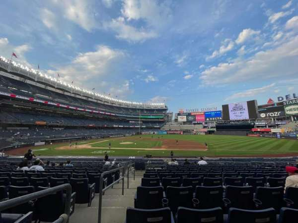 Yankee Stadium, section: 115, row: 12, seat: 9